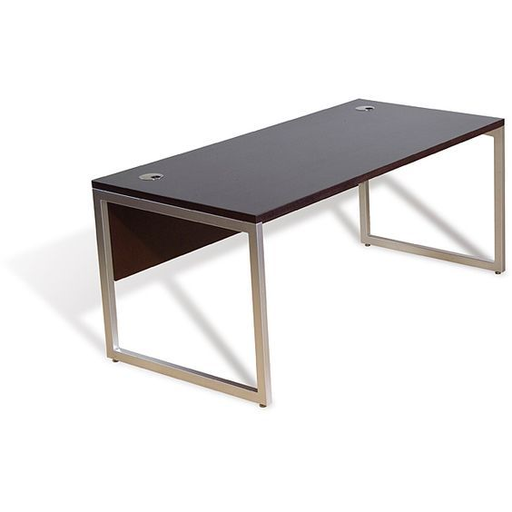 Jesper Office Contemporary Executive Desk   Overstock™ Shopping   The Best  Prices On Jesper Office