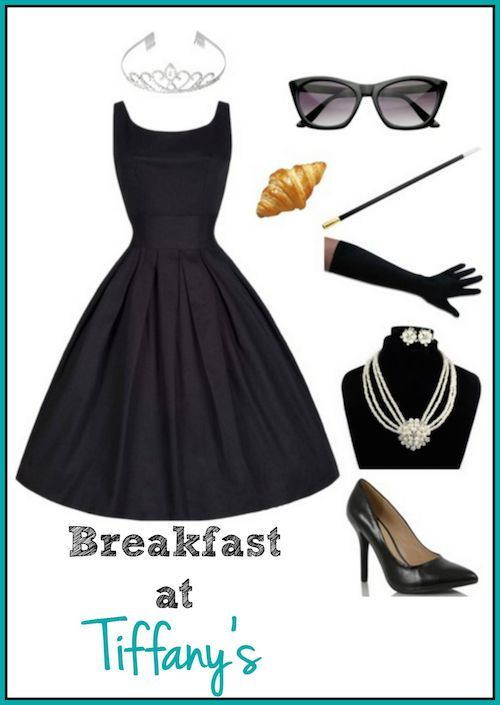 DIY Breakfast at Tiffany's Costume for a Stylish Halloween   Make