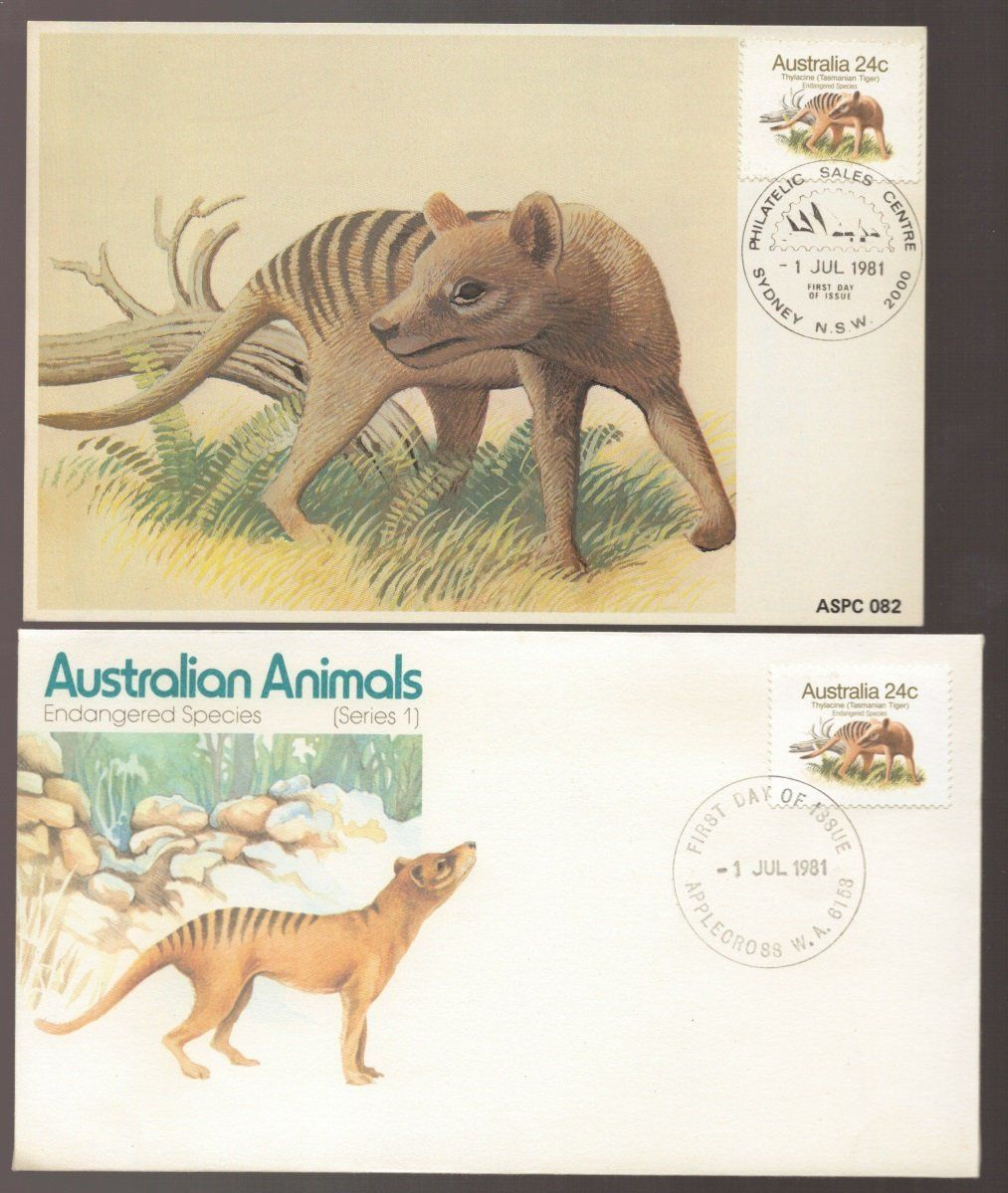 Excited To Share The Latest Addition To My Etsy Shop Tasmanian Tiger Thylacine Extinct Australia Animal Australia Animals Australian Animals Tasmanian Tiger