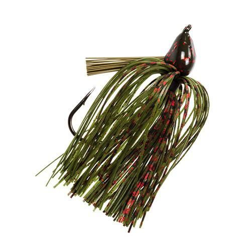 Denny Brauer Structure Jig - 5-0 Hook, 1 oz, Watermelon Red Flake, Per 1