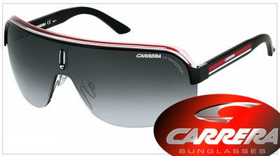 Red, black, and white sunglasses? Why not wear them to show some school spirit?