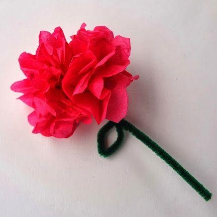 Easytissuepaperflowers swap ideas pinterest tissue paper easytissuepaperflowers mightylinksfo