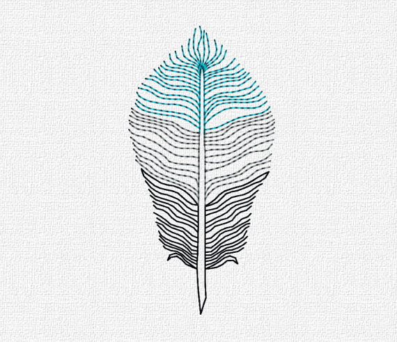 Feather machine embroidery pattern design download 4x4 5x7 modern feather machine embroidery pattern design download 4x4 5x7 modern ombre redwork embroidery design dt1010fo