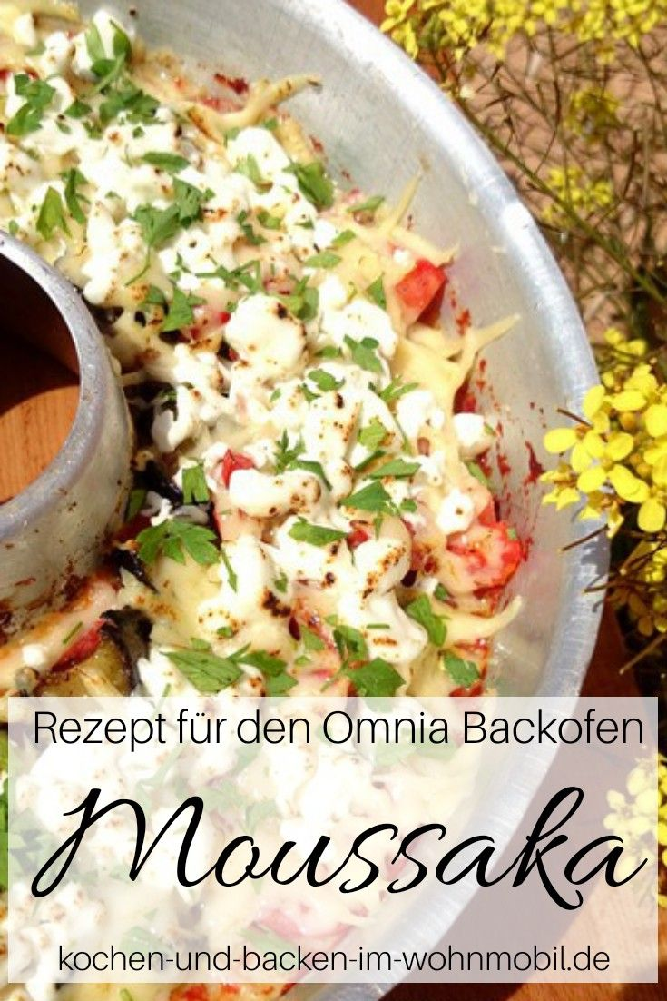 Photo of Moussaka from eggplant, feta cheese, mashed potatoes and tomatoes ›cook-and-backen-im-wohnmobil.de