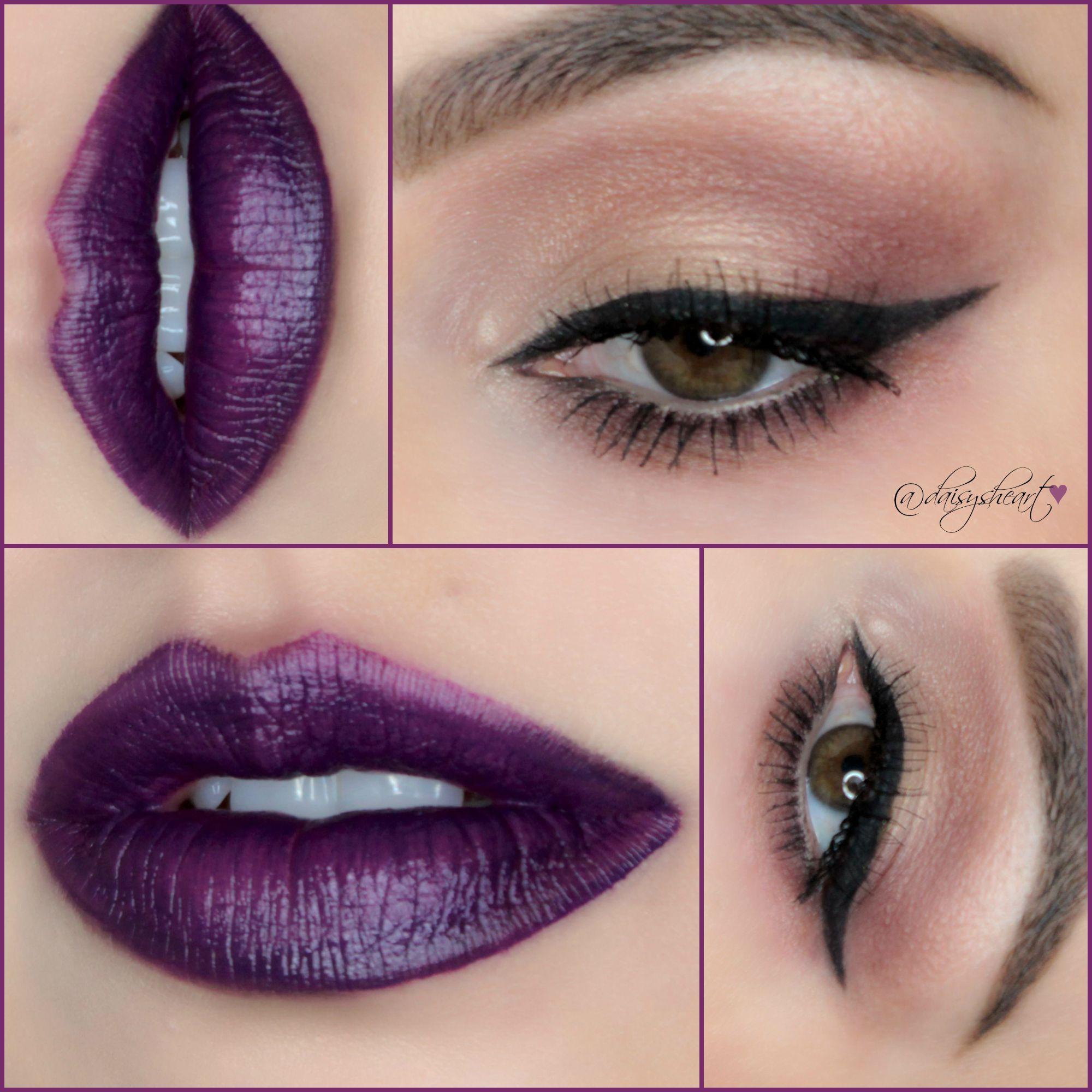 Vampy Cat Eye Estee Lauder lip potion in Savage Garden www ...