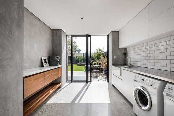 Photo 4 of 8 in 7 Modern Laundry Rooms images
