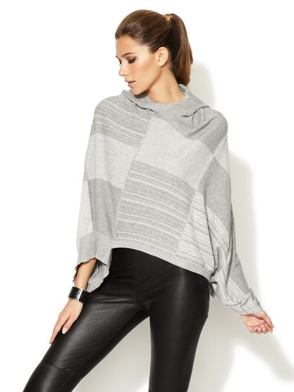 Multi Stripe Hooded Sweater by L.A.M.B. on Gilt.com #giftme