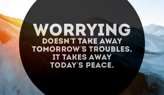 Free Worrying Wont Do You Any Good ECard EMail Free - Free personalized birthday invitation ecards