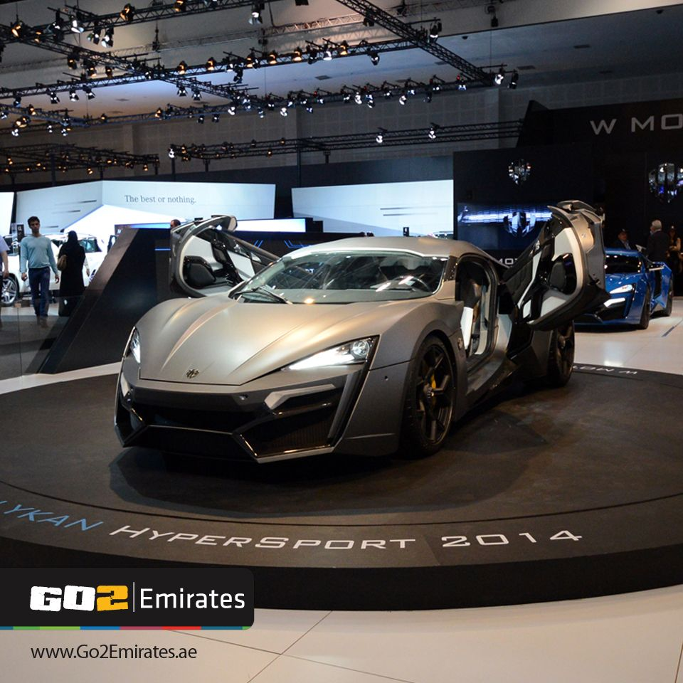 Race To See The Launch Of W Motors' Lykan HyperSport, The
