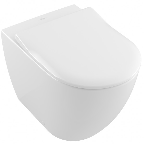 Villeroy And Boch Back To Wall Toilet Subway 2 0 Horizontal Outlet White Rimless 5602r0r1 New Toilet Concealed Cistern Back To Wall Toilets