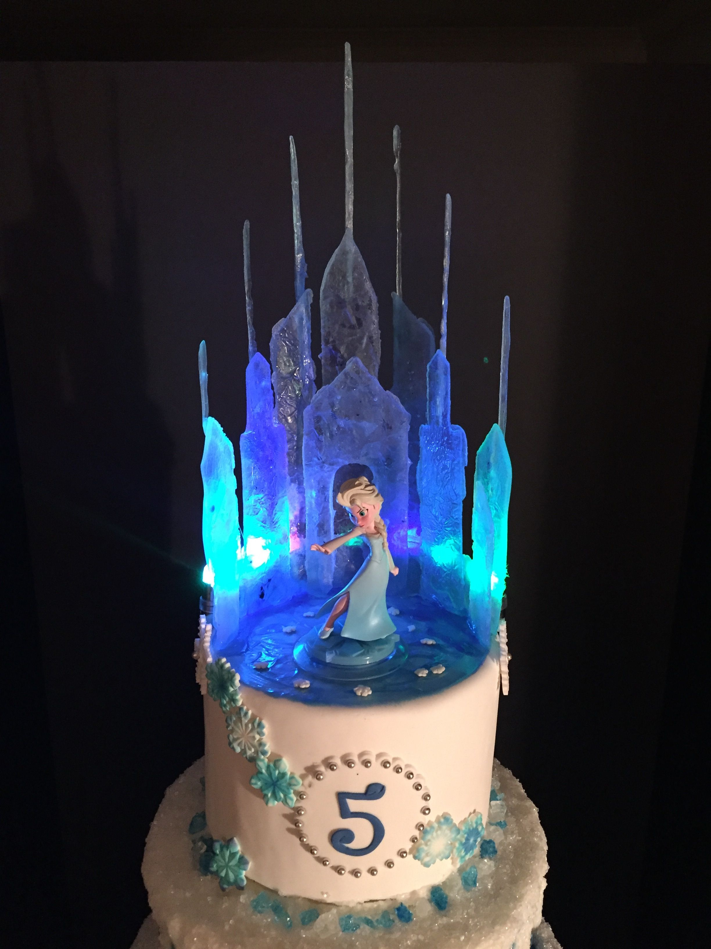 Outstanding Frozen Castle Cake Topper With Images Frozen Birthday Cake Funny Birthday Cards Online Elaedamsfinfo