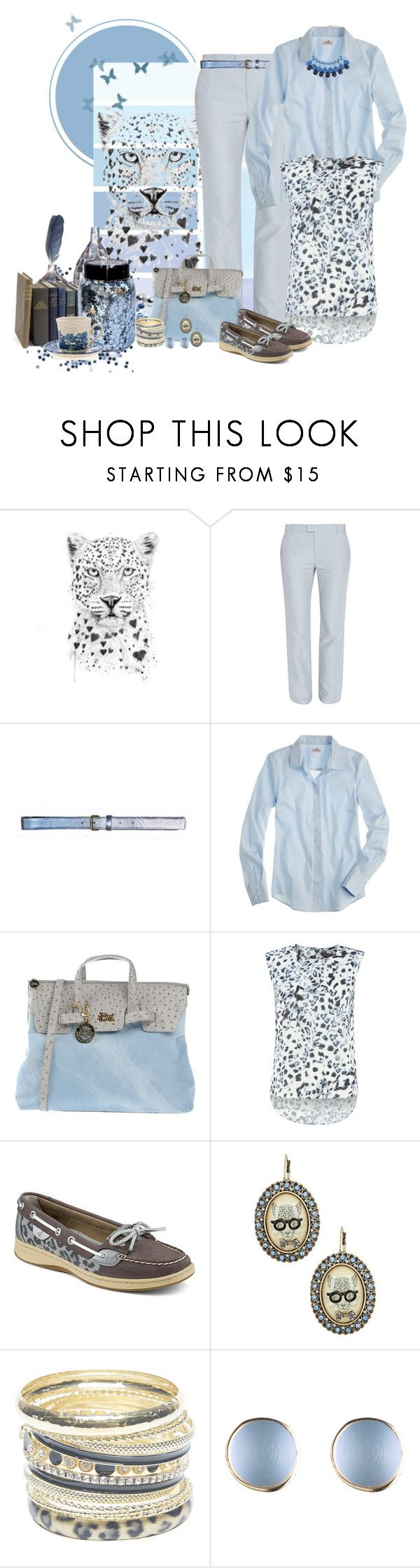 """Untitled #339"" by jessy-james83 ❤ liked on Polyvore featuring Band of Outsiders, Cynthia Rowley, J.Crew, Secret PonPon, Pied a Terre, Sperry, Betsey Johnson, Wet Seal and Chicnova Fashion"