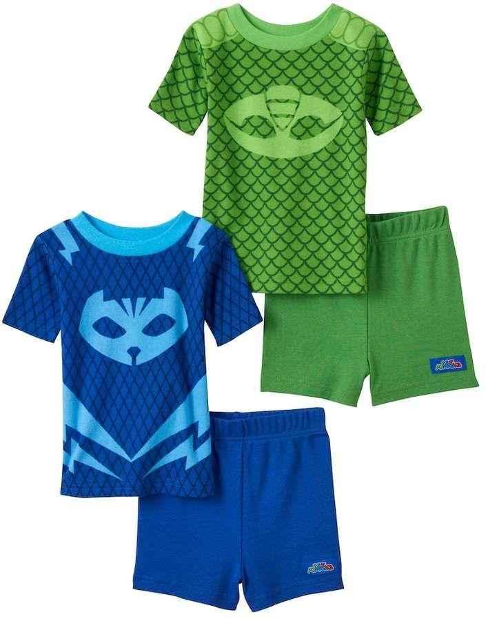 d747f155d795 Toddler Boy PJ Masks Catboy   Gekko 4-pc. Pajama Set in 2019