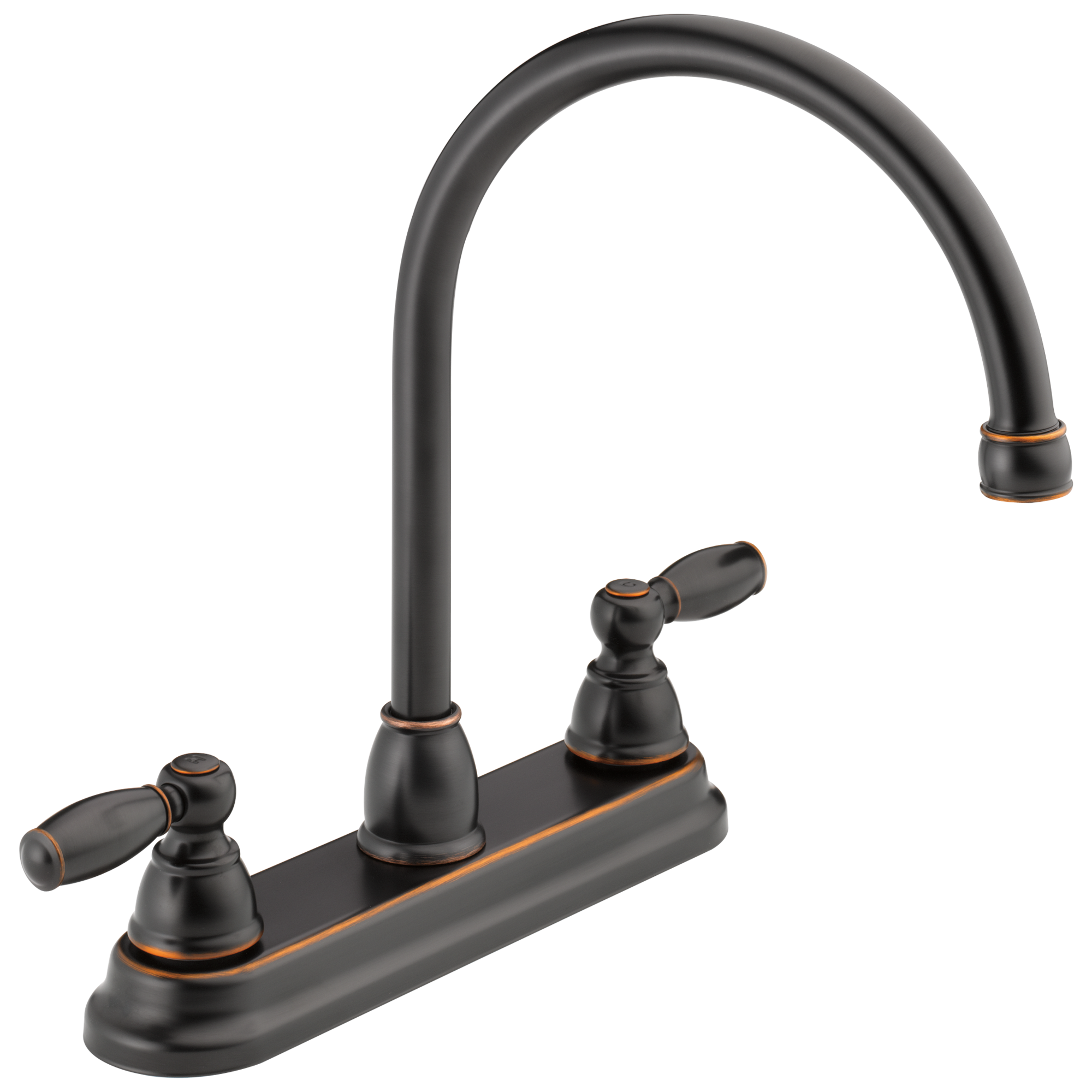 Peerless Faucet P299565lf Ob Two Handle Kitchen Faucet Oil Bronze