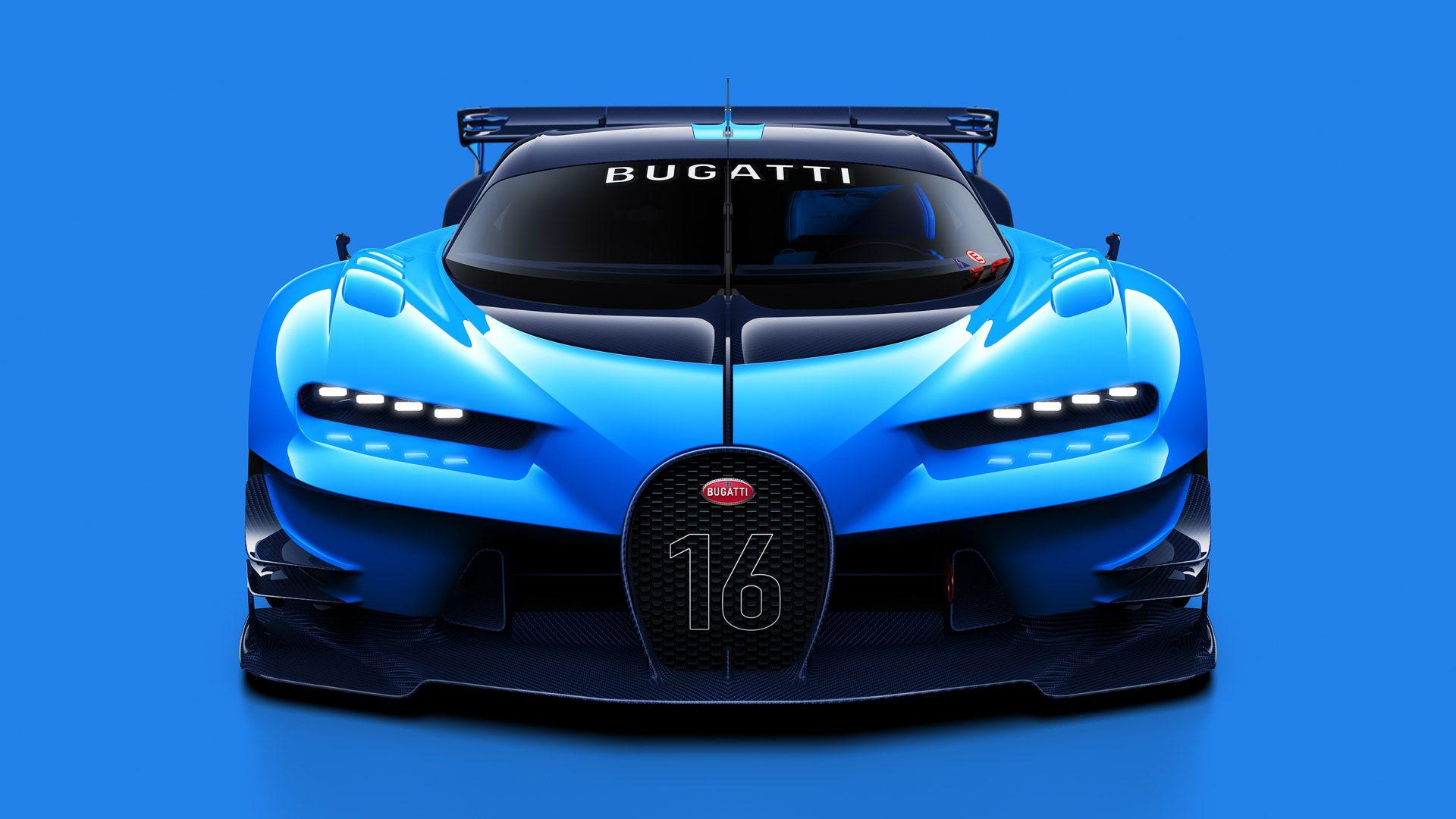 Bugatti Previews Veyron Successor With Vision Gt Concept Gran Turismo Bugatti Veyron Bugatti