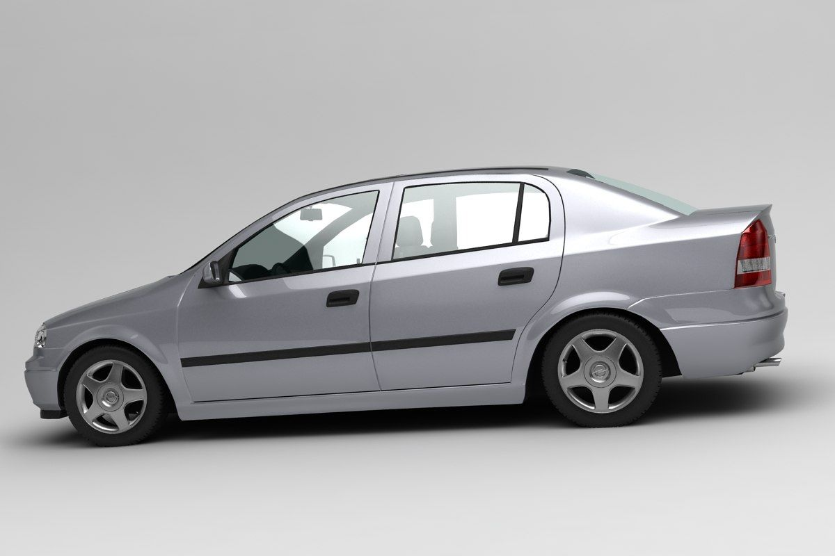 Opel Astra Sedan 3d Model Astra Sedan