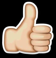 Pin By Lunita Rodao On Cumpleanos Thumbs Up Sign Cool Symbols Emoji Symbols
