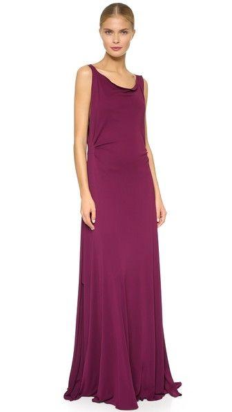 Zac Posen Sleeveless Gown - African Violet - http://musteredlady.com/zac-posen-sleeveless-gown-african-violet/  .. http://goo.gl/GA8imq    MusteredLady.com
