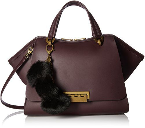 Zac Zac Posen Eartha Iconic Jumbo Double Handle Wine Zac