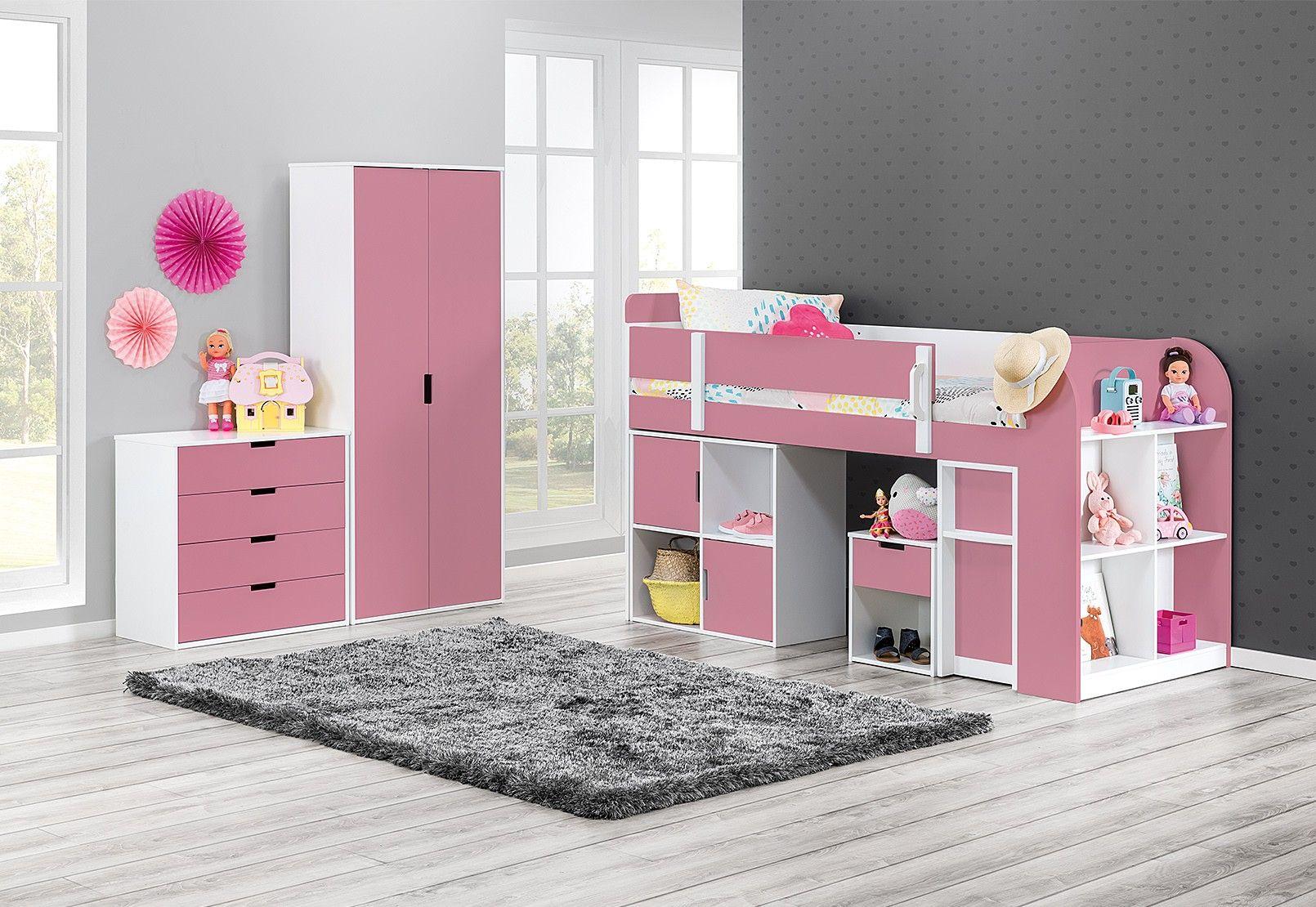 Skittle Single Loft Bunk Bed   Amart Furniture   Loft bunk ...