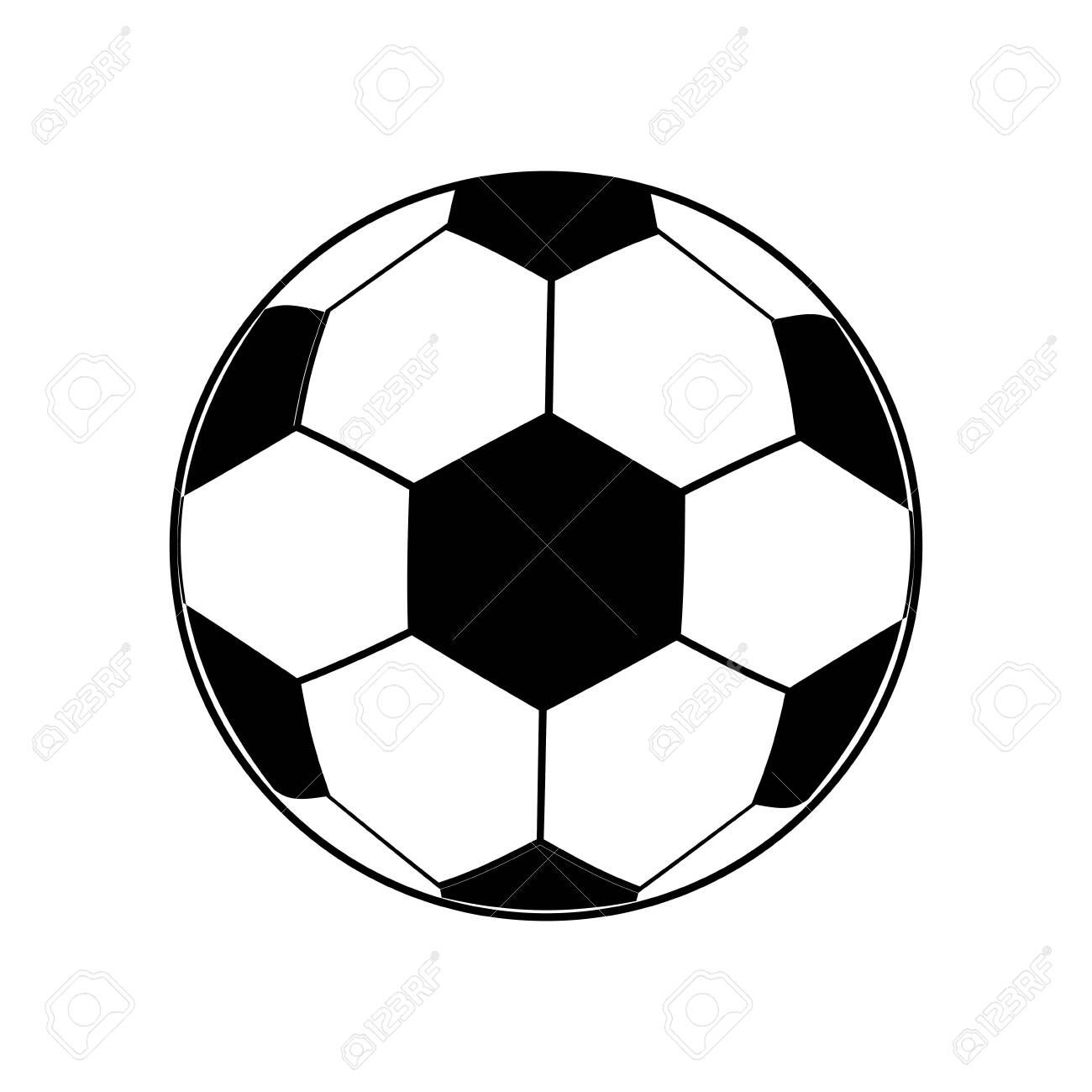 Soccer Ball Icon Over White Background Vector Illustration Affiliate Icon Ball Soccer White Illustration Soccer Ball Soccer White Background