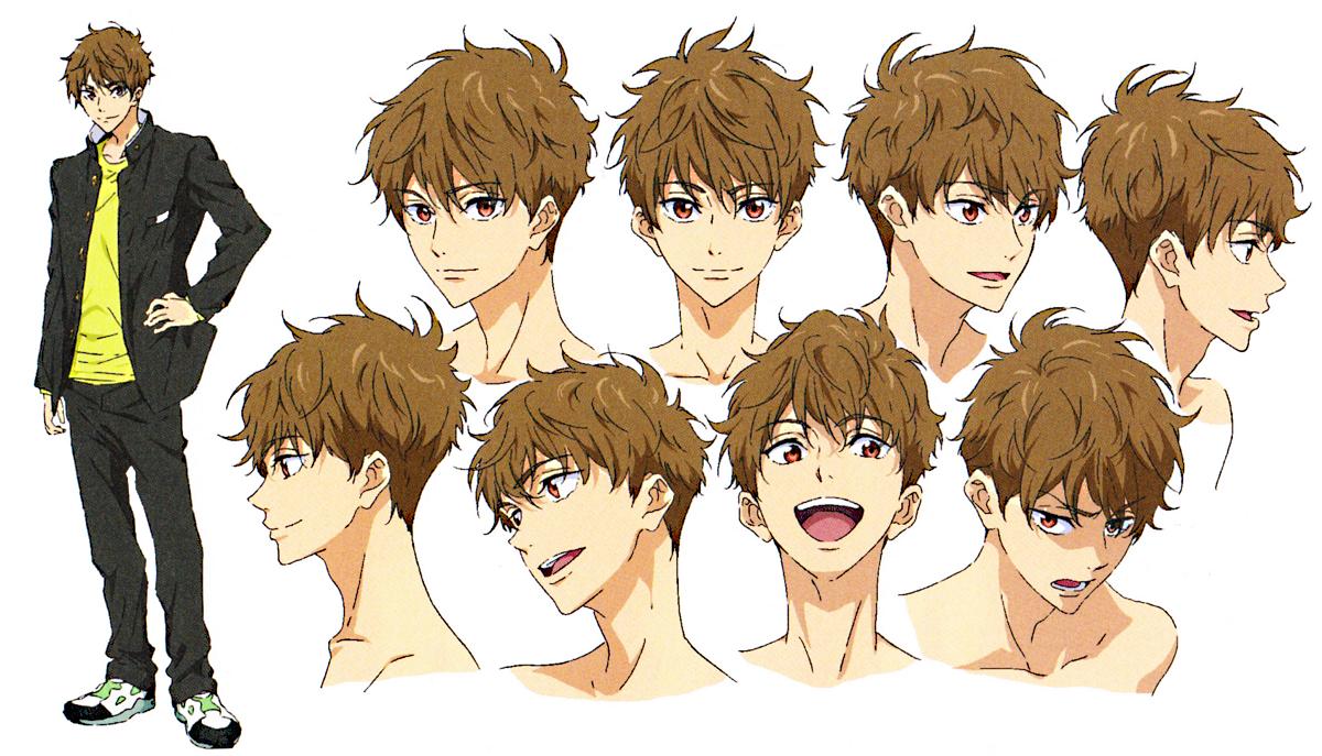 Natsuya And Ikuya Scans Free Ikuya Kirishima Nao Serizawa Free Starting Days Na Free Anime Characters Animation Art Character Design Anime Character Design