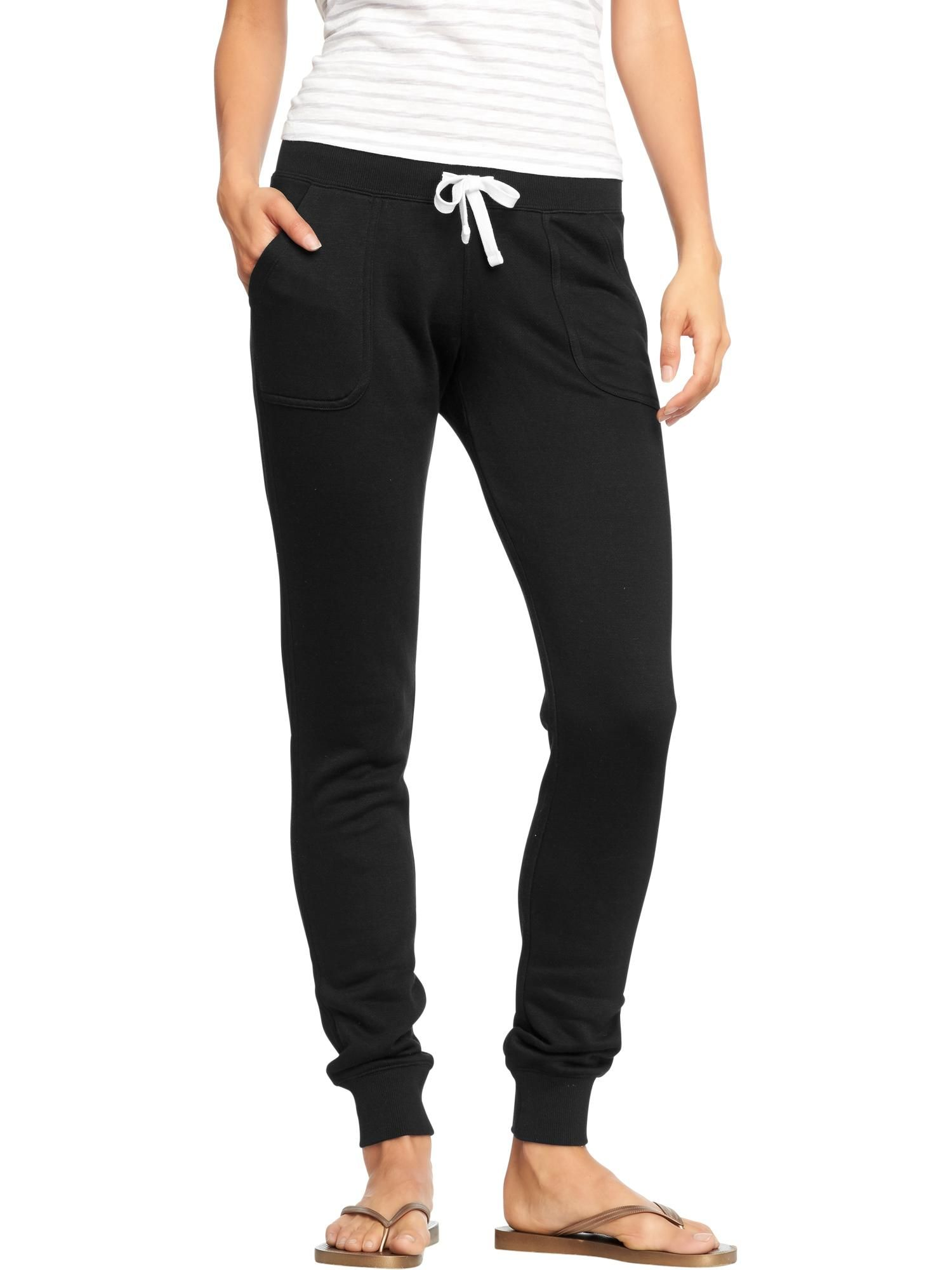 fe911630e3 Old Navy | Women's Drawstring-Skinny Sweatpants | My Style Pinboard ...