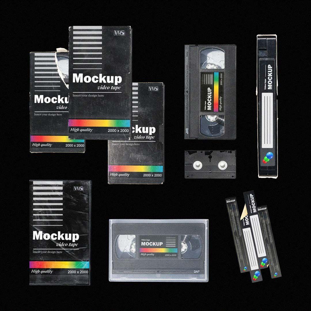 Vhs Tape Mockup In 2021 Album Art Design Mockup Video Tapes