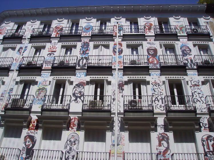 Fachada en Barcelona, España