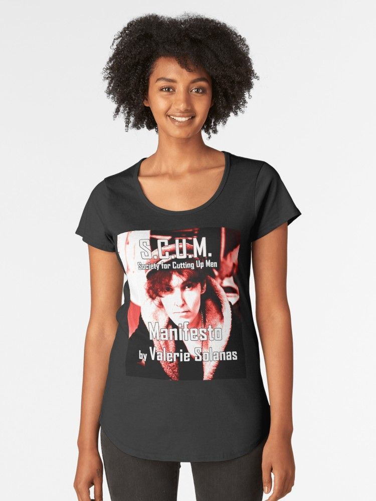0789e4c8d Buy 'Valerie Solanas' by ValentinaHramov as a T-Shirt, Classic T-Shirt,  Tri-blend T-Shirt, Lightweight Hoodie, Women's Fitted Scoop T-Shirt,  Women's Fitted ...