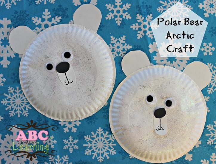 polar bear crafts for preschoolers paper plate crafts on paper plates paper 976
