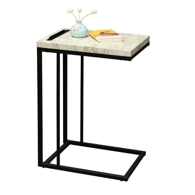 Conklin Slide Under Sofa End Table Sofa End Tables Sofa Side Table End Tables
