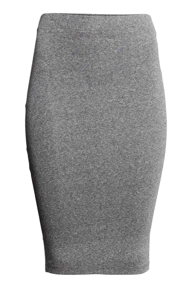 Falda de punto   H&M
