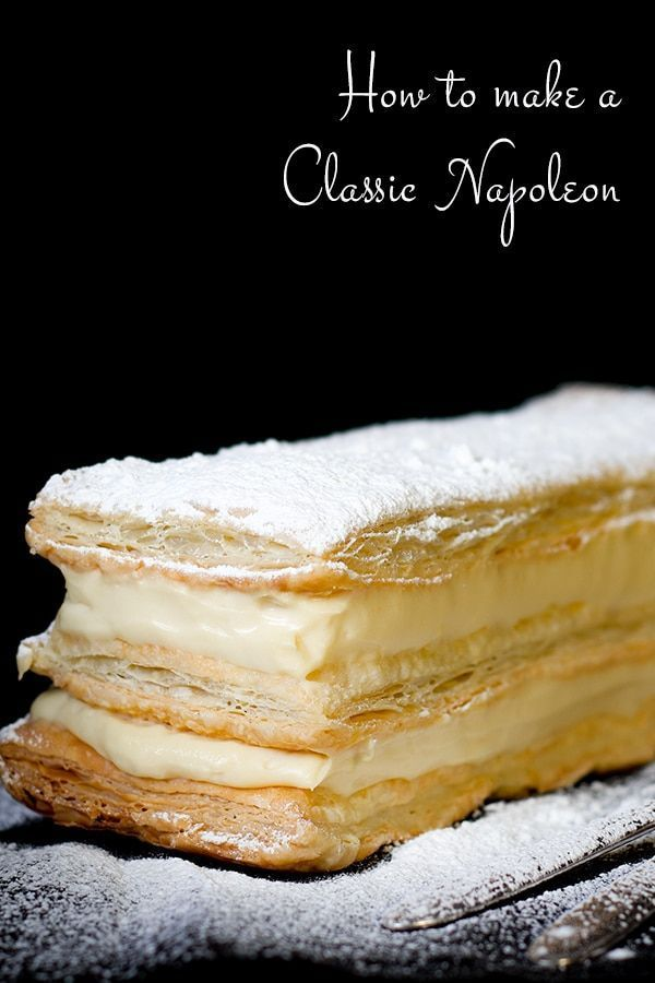 Napoleon Dessert | {BEST} French Pastry