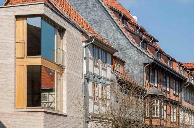 Altes und Neues vereint Architektur, Welterbe und Wohnhaus