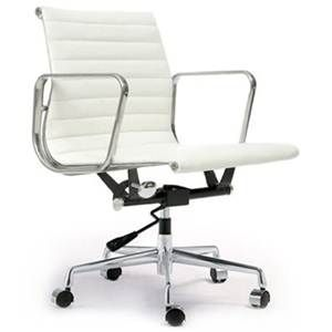 replica white eames 319b modern designer leather office chair