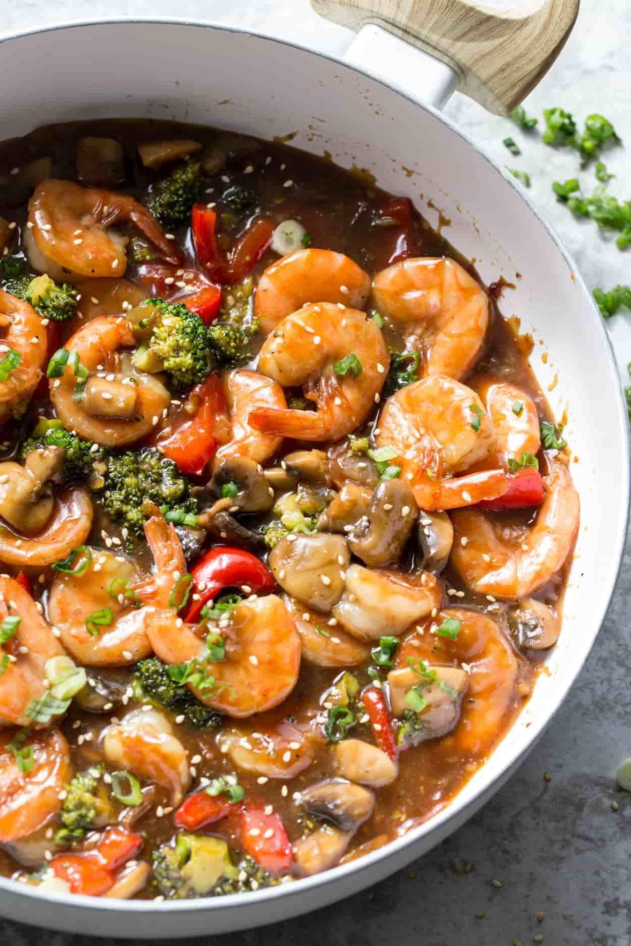 Easy Shrimp Stir Fry Recipe - Valentina's Corner
