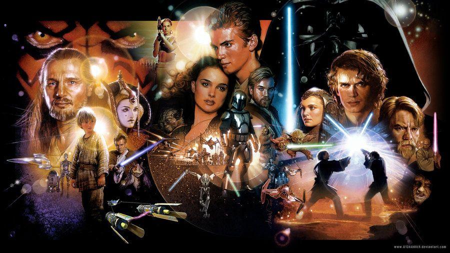 Star Wars Prequel Trilogy Wallpaper