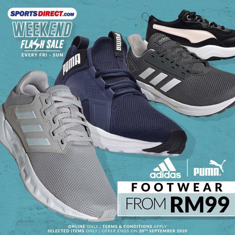 Sports Direct (MY): Adidas & Puma Footwear From RM99! | Pumas ...