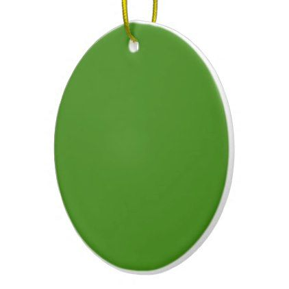 TEMPLATE ADD TEXT and IMAGE change COLOR EDITABLE Ceramic Ornament - editable leaf template