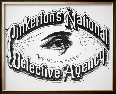 Image result for pinkerton detective agency