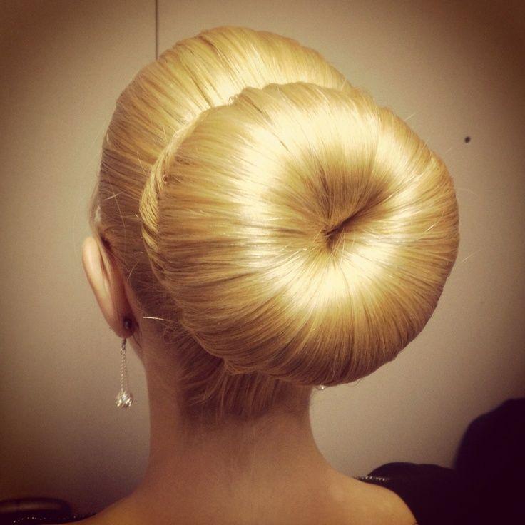 Large Blonde Bun Big Bun Hair Bun Hairstyles Hair Styles