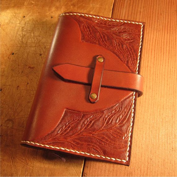 Refillable Leather Journal Cover Notebook Cover With Hand