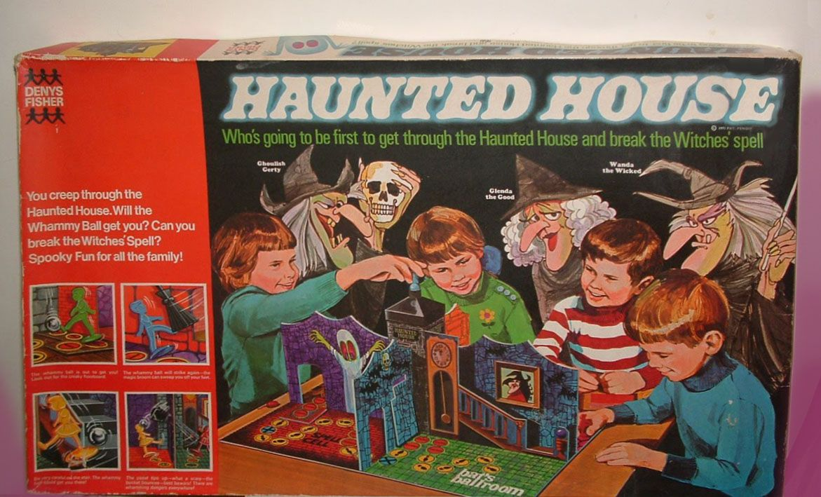 The Haunted House Board Game aka Which Witch and Ghost