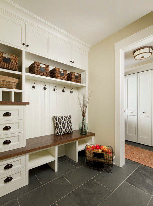 house entry mudroom ideas floor tiles white mudroom lockers with ...
