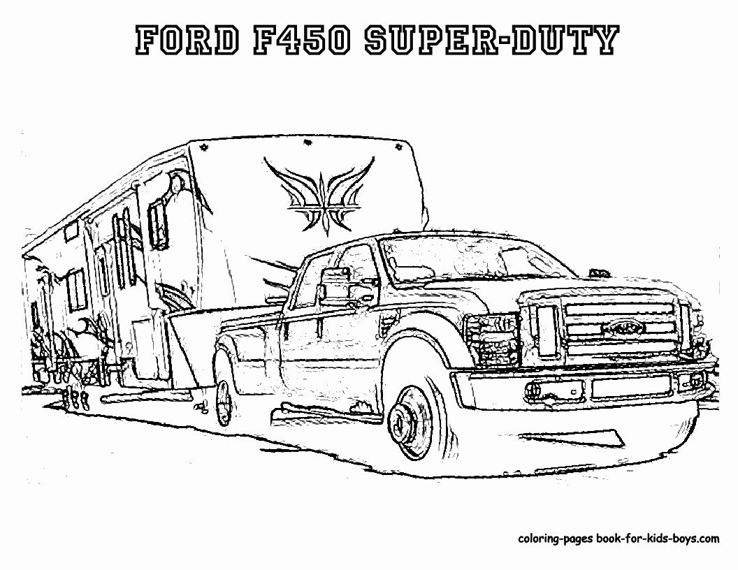Ford Trucks Coloring Pages Truck Coloring Pages Monster Truck Coloring Pages Cars Coloring Pages