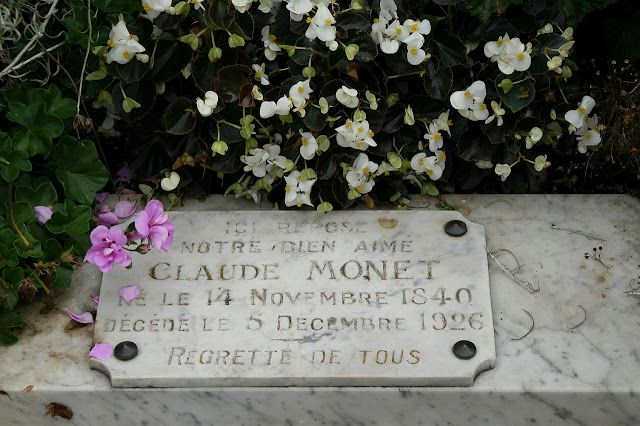Monet's grave at Giverny