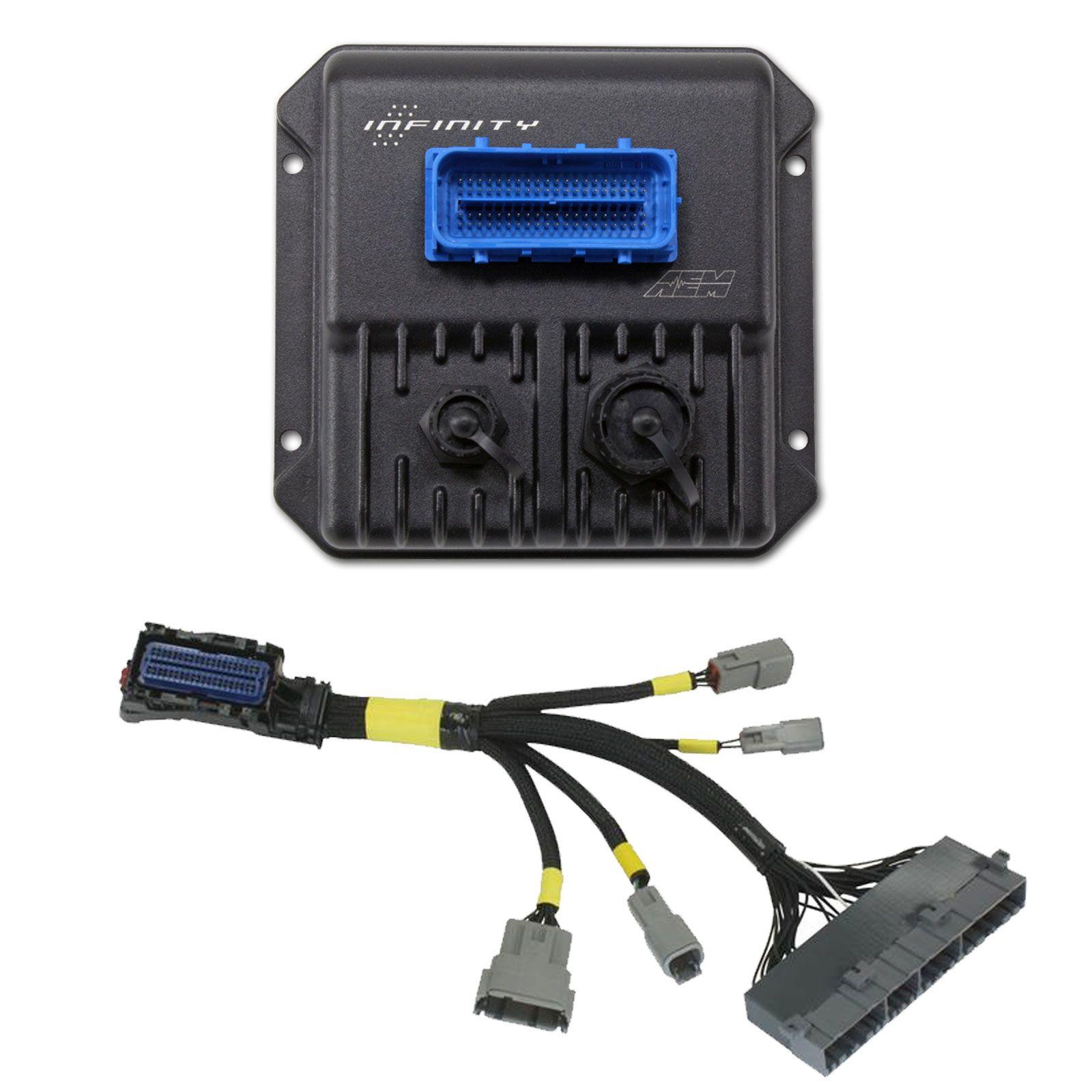 AEM Infinity 506 EMS CPU with Plug N Play Harness for 2003-05 Mitsubishi Evo 8
