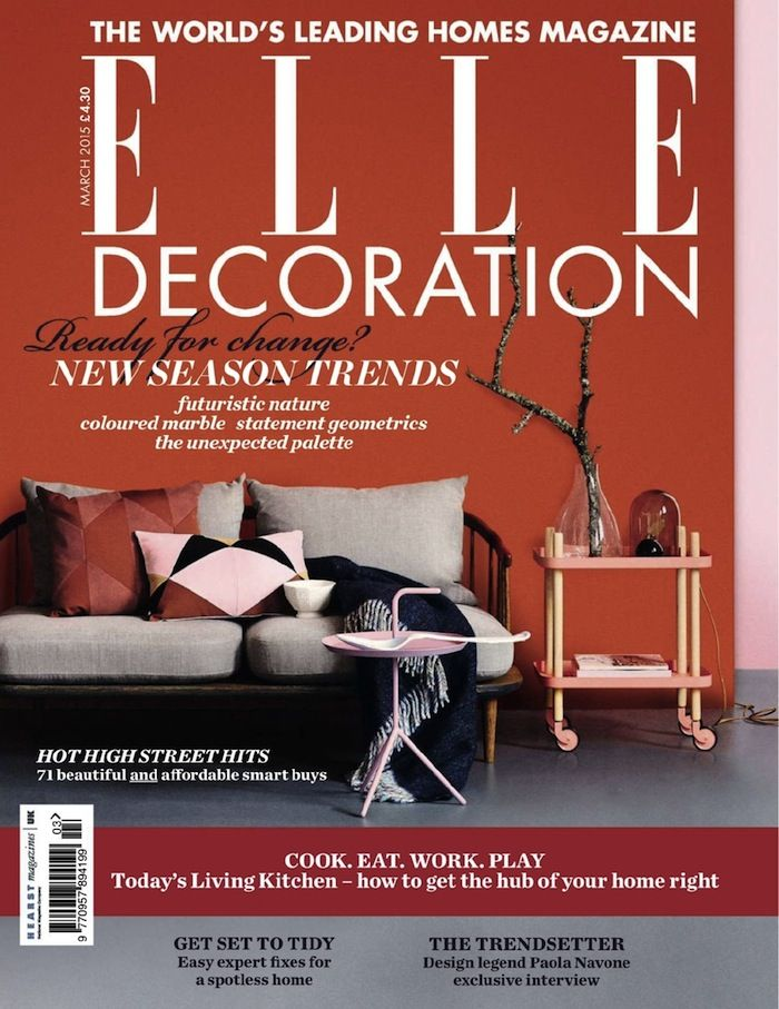 The UK has many interior design magazines and there are some iconic
