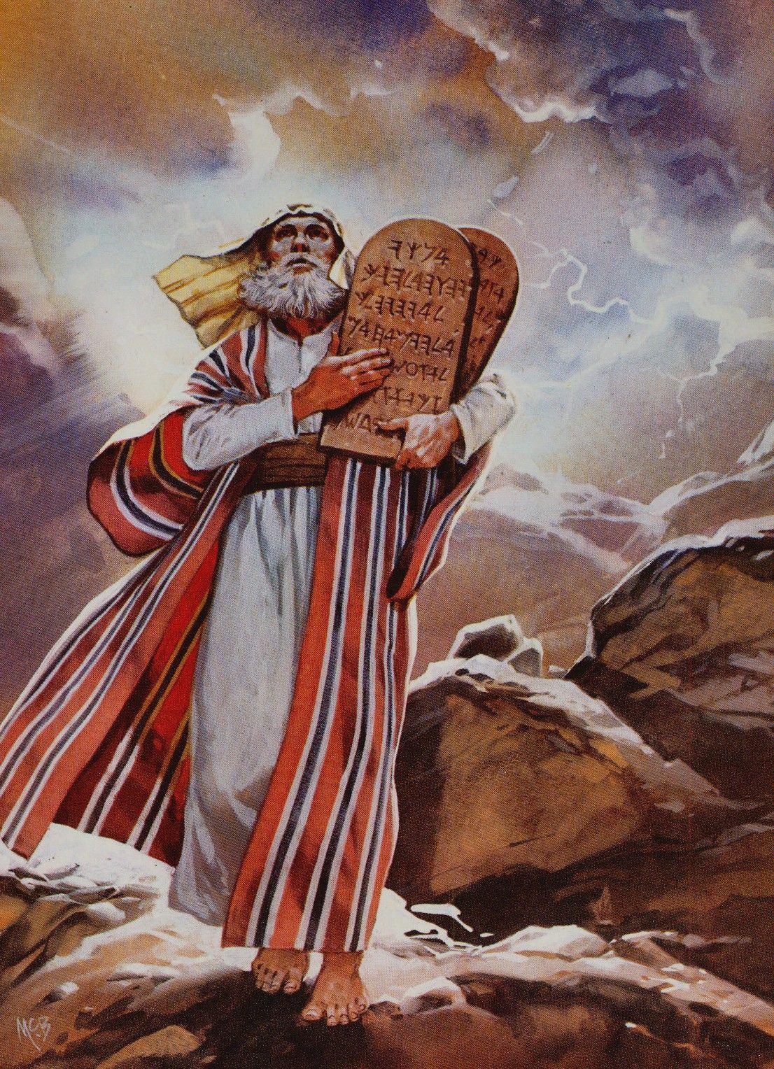 данном случае библейские картинки моисей на горе приехал друзьями